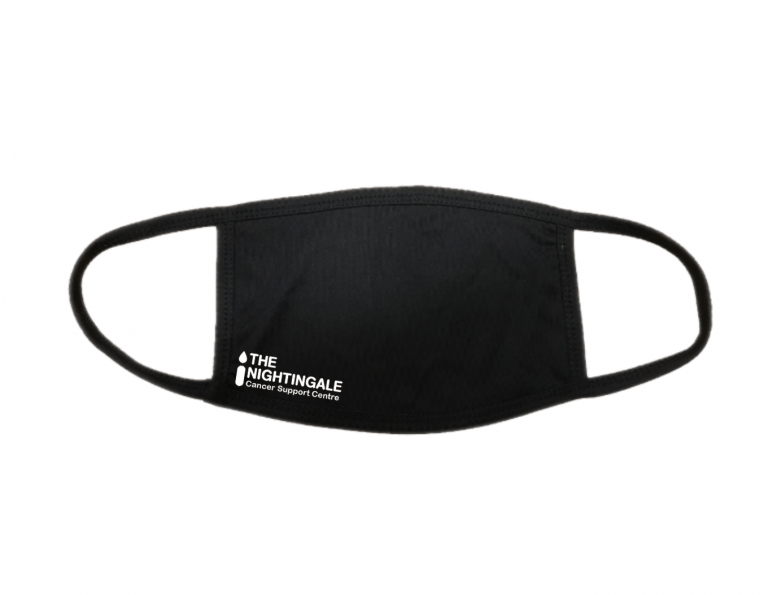 Nightingale face covering- black